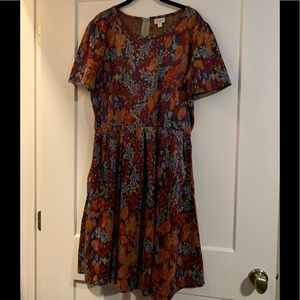 LuLaRoe Amelia Dress 3x